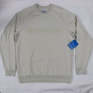 Columbia Sunridge Crewneck Pullover Sweater Beige